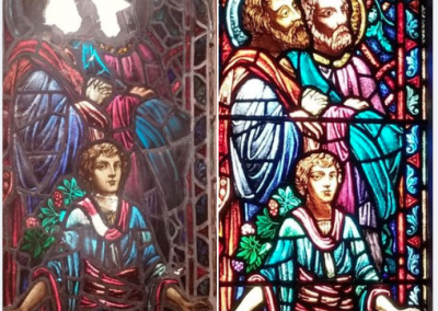 Restoration of the Stained Glass windows. 1st. Presbyterian Church. Chicago 2020.